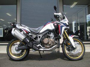 新車バイク ホンダ CRF1000L アフリカツイン トリコロール 右側