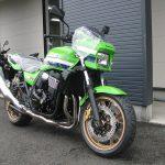 カワサキ ZRX1200 DAEG ファイナルエディション ライムグリーン 前側2