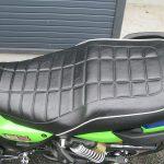 カワサキ ZRX1200 DAEG ファイナルエディション ライムグリーン シート