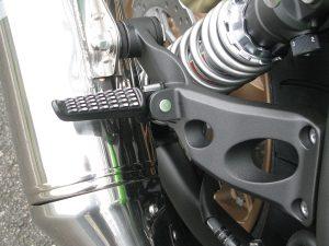 カワサキ ZRX1200 DAEG ファイナルエディション ライムグリーン タンデムステップブラック