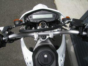 カワサキ KLX125 ホワイト メーターパネル