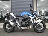 スズキ GSR750ABS ブルー/ホワイト 右側小