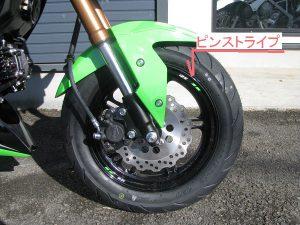 カワサキ Z125PRO KRT Edhition グリーン/ブラック 全国500台限定車 ピンストライプ