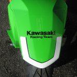 カワサキ Z125PRO KRT Edhition グリーン/ブラック 全国500台限定車 フロントフェンダー