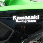 カワサキ Z125PRO KRT Edhition グリーン/ブラック 全国500台限定車 ガソリンタンク ロゴ