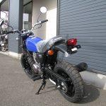 ホンダ Ape50(エイプ50) ブルー 後ろ側