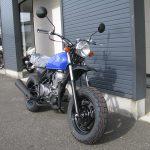 ホンダ Ape50(エイプ50) ブルー 前側