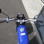ホンダ Ape50(エイプ50) ブルー ハンドル