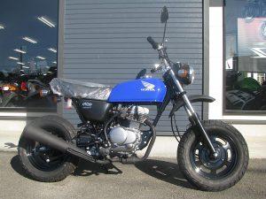 ホンダ Ape50(エイプ50) ブルー 右側