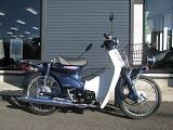 ホンダ プレスカブ(50cc) ブルー 右側小