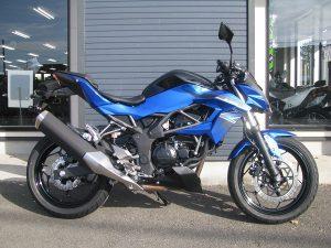 カワサキ Z250SL ブルー 右側