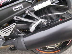 カワサキ NINJA ZX-14R ABS オーリンズエディション ブラック リヤインナーフェンダー