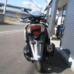 ヤマハ トリシティ155ABS ホワイト 後ろ側