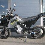 ヤマハ WR250X ブラック/グレイ 左側