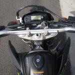 ヤマハ WR250X ブラック/グレイ メーターパネル