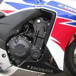 中古車 ホンダ CBR400R ABS トリコロールカラー(ホワイト/ブルー/レッド) エンジン