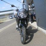 カワサキ VERSYS‐X(ベルシスX) グレイ 前側