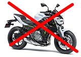 試乗会 Z650 2017年モデル 試乗できない。