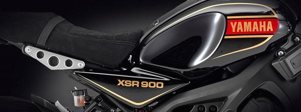ヤマハ XSR900 ヘリテージ外装セット ブラック 受注期間限定生産