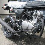 新車 ホンダ エイプ50(Ape50) ブラック エンジン