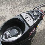 新車 ヤマハ JOG ブラック シートボックス(2017年モデル)