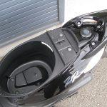 中古車 ヤマハ JOGZR ブラック シートボックス