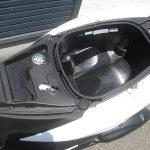 中古車 ヤマハ トリシティ155 ABS ホワイト シートボックス