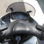 中古車 ヤマハ トリシティ155 ABS ホワイト メーターパネル