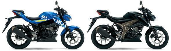 新発売 スズキ GSX-S125 ブルーとブラック
