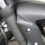 中古車 カワサキ Z250 ABS ブラック フロントフェンダーエンブレム
