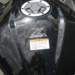 中古車 カワサキ Z250 ABS ブラック ガソリンタンクエンブレム