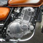 新車情報 スズキ ST250 ゴールド(オレンジ) エンジン
