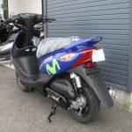新車情報 ヤマハ JOGZR Movistar Yamaha MotoGP Edition ブルー 後ろ側