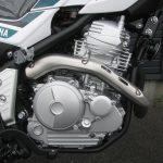 新車情報 ヤマハ セロー250 グリーン エンジン