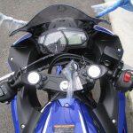新車 ヤマハ YZF-R3ABS Movistar Yamaha MotoGP Edition ブルー メーターパネル