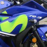 新車 ヤマハ YZF-R3ABS Movistar Yamaha MotoGP Edition ブルー ボディパネル