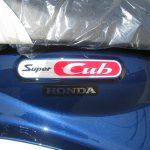 新車 ホンダ スーパーカブ110 ブルー エンブレム
