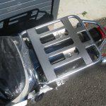 新車 ホンダ スーパーカブ110 ブルー リアキャリア