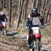 ホンダ モーターサイクリストスクール オフロードバイク林道チャレンジコース