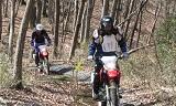 ホンダ モーターサイクリストスクール オフロードバイク林道チャレンジ