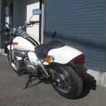 中古車バイク ホンダ マグナ50(MAGNA50) ホワイト 後ろ側