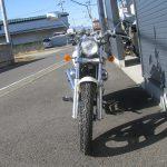中古車バイク ホンダ マグナ50(MAGNA50) ホワイト 正面