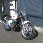 中古車バイク ホンダ マグナ50(MAGNA50) ホワイト 右前側