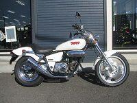 中古車バイク ホンダ マグナ50(MAGNA50) ホワイト