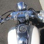 中古車バイク ホンダ マグナ50(MAGNA50) ホワイト メーターパネル周り