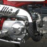 中古車情報 ホンダ モンキー ホワイト/レッド 2007年モデル エンジン