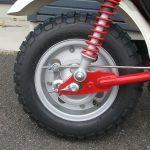 中古車情報 ホンダ モンキー ホワイト/レッド 2007年モデル リヤタイヤ