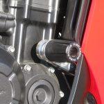 中古車情報 ホンダ CBR400R レッド エンジンスライダー