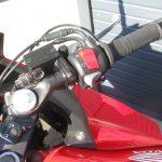 中古車情報 ホンダ CBR400R レッド グリップヒーター