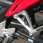 中古車情報 ホンダ CBR400R レッド ヘルメットホルダー